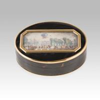 Antique miniature box