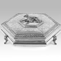 Silver box greyhound